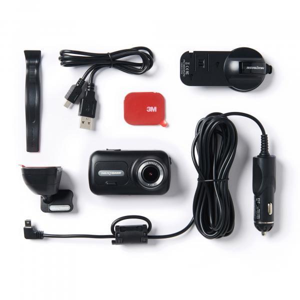 NEXTBASE Dashcam 322GW + Hardwire Kit