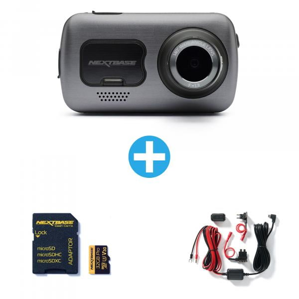 NEXTBASE Dashcam 622GW + 32GB + Hardwire Kit