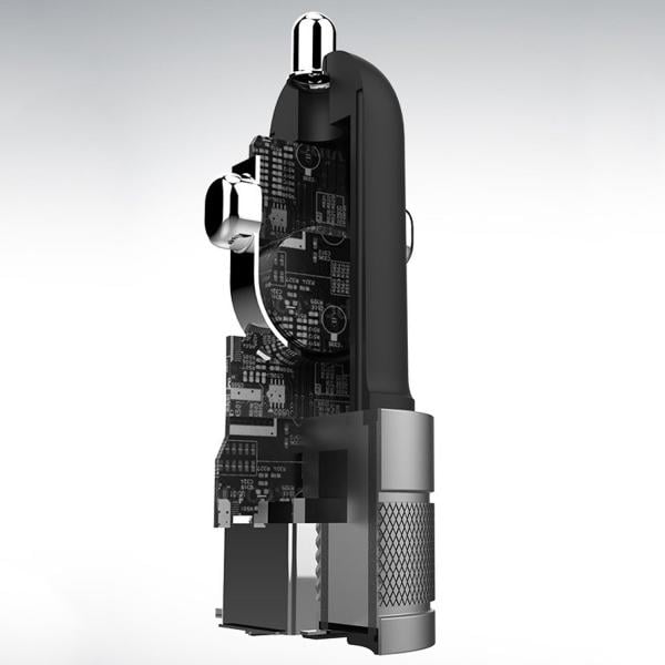Wicked Chili Turbo-ID Auto Ladegerät Dual Port USB C 36W