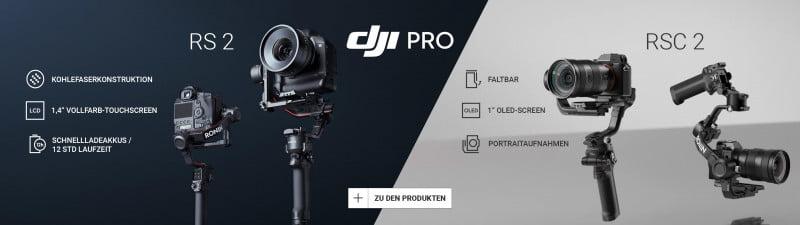 DJI RS 2 & DJI RSC 2