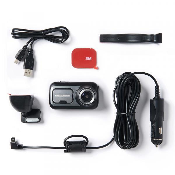 NEXTBASE Dashcam 422GW + 32GB + Hardwire Kit + Rückmodul