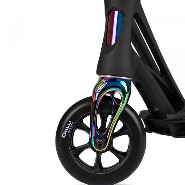 Chilli Stunt-Scooter Beast V2 black-neochrome