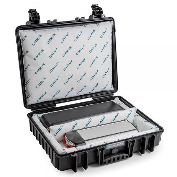 B&W Case 6040 Cirrux für Lithiumakkus